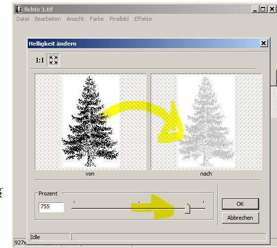 Allplan 2013 Pixelbilder Pixelflächen Farbe
