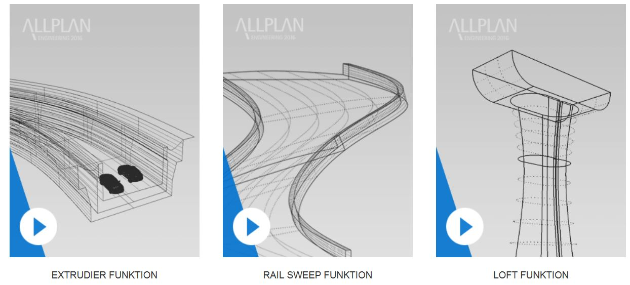 Allplan Parasolid Ingenieurbau