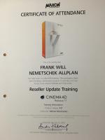 Frank Will Zertifizierung Cinema 4D R17