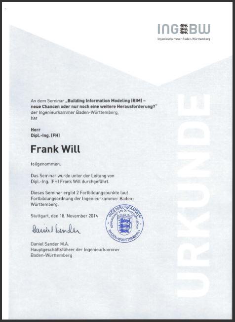 INGKBW Zertifizierung