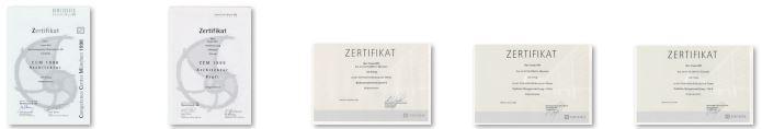 Zertifikate Nemetschek Frank Will