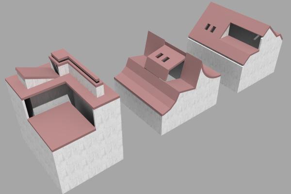 Workshop dach allplan 2016 architektur ebenen - Dachformen architektur ...
