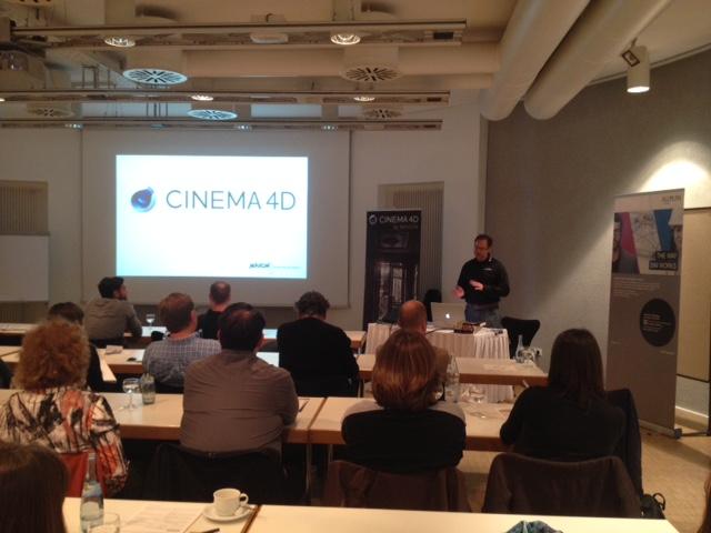 Releaseshow Cinema 4D 7102015 Arndt von Königsmarck