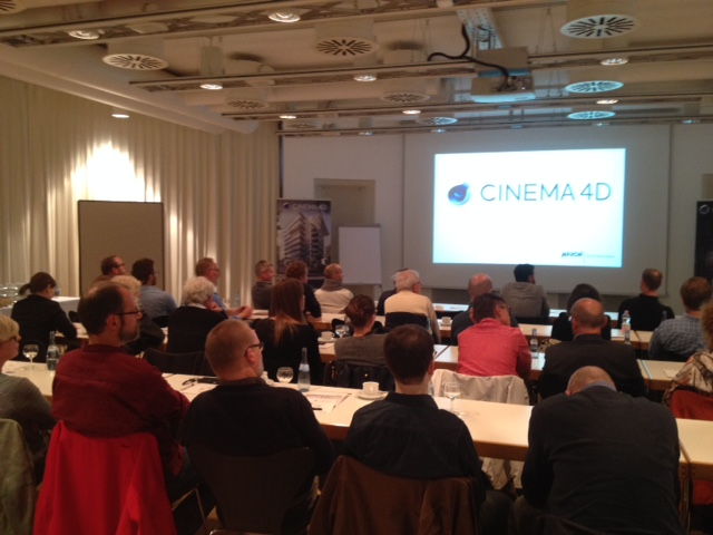 Releaseshow Cinema 4D 7.10.2015 Neues Release