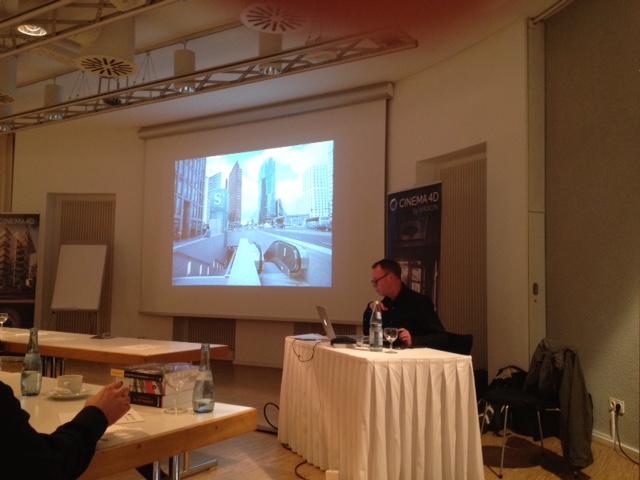 Releaseshow Cinema 4D 7.10.2015 Uli Staiger