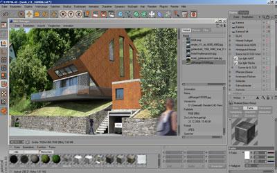 Cinema 4d demo version hier kostenlos bestellen for Cinema 4d architektur