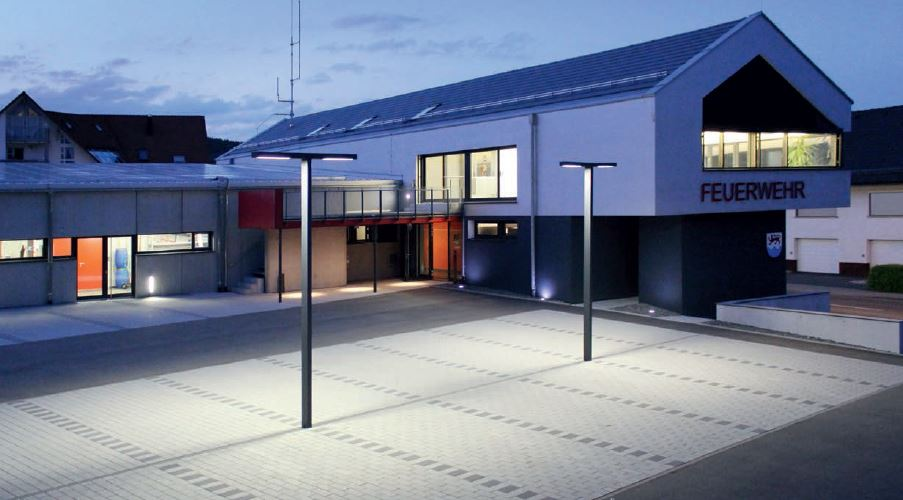 Feuerwehrhaus wellendingen deutschland bernd mattern for Cinema 4d architektur