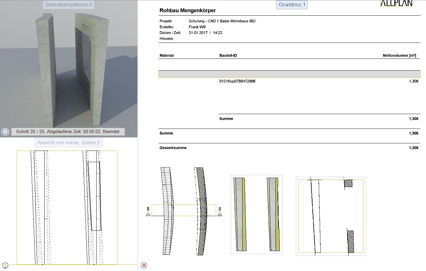 Bestandplanung 3D Parasolid