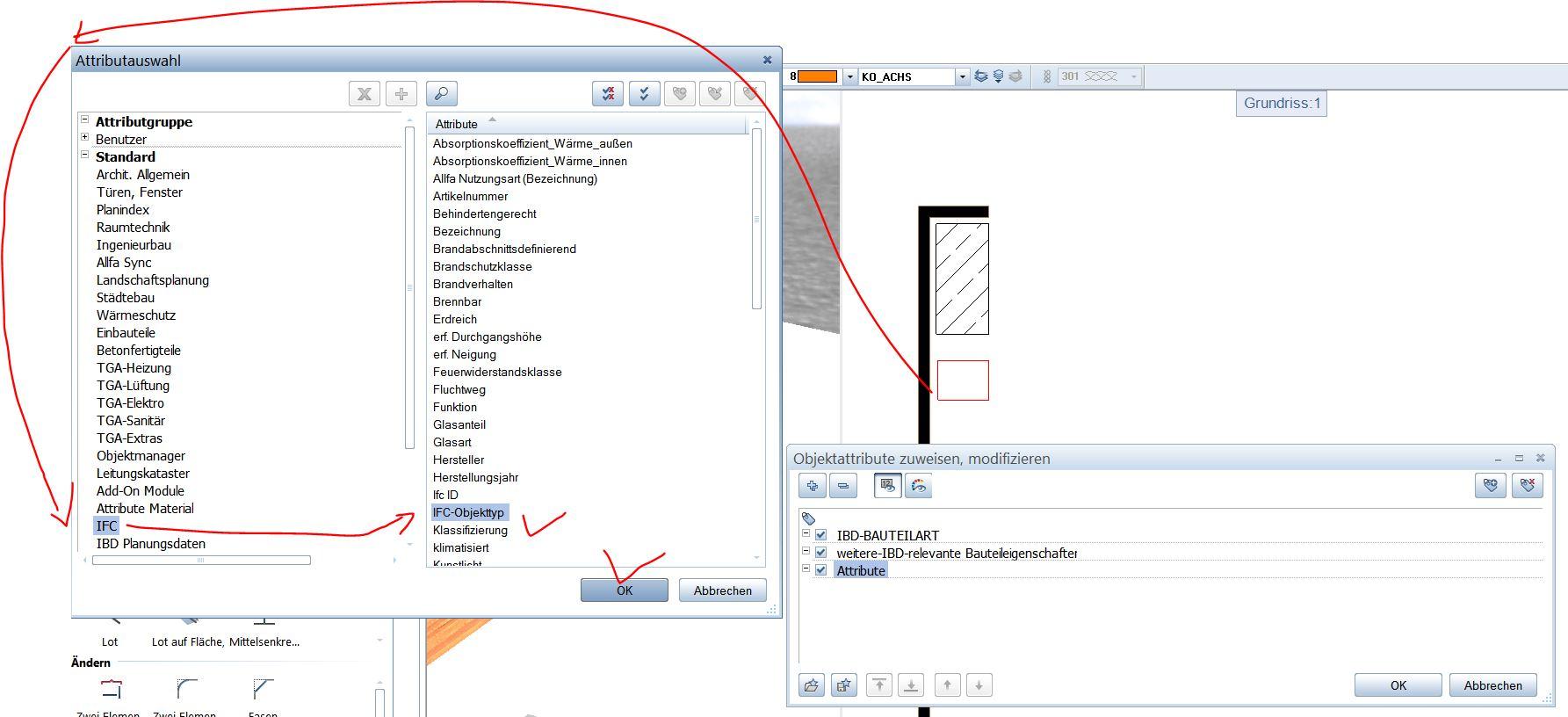IFC Objekttyp Quader Modellieren 3D