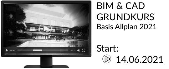 BIM und CAD Grundkurs Basis Allplan Schulungen